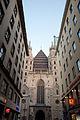 St. Stephen's Cathedral seen from Stephansplatz. Vienna, Austria, Central Europe. October 20, 2012.jpg