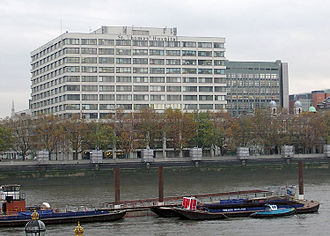 St Thomas' Hospital - St Thomas' Hospital, located across the River Thames from the Houses of Parliament