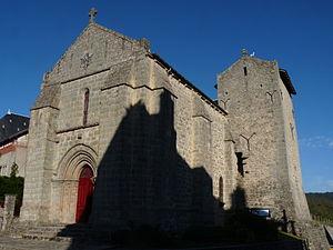 Saint-Sulpice-Laurière - The 13th century church in Saint-Sulpice-Laurière