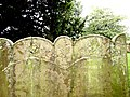 St Andrews Mells - gravestone detail (geograph 5454444).jpg