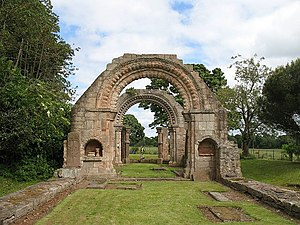 Baldred of Tyninghame - Ruins of St Baldred's Church