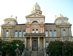 Belmont County, Ohio - Image: St Clairsville Ohio Courthouse