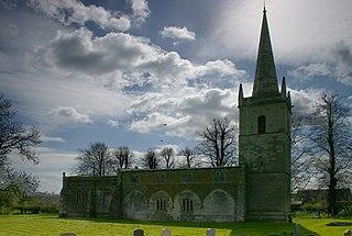 Egleton village in United Kingdom