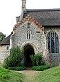 St Lawrence, Ingworth, Norfolk - Porch - geograph.org.uk - 318277.jpg