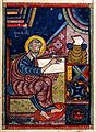St Luke, from an Armenian Gospel Manuscript (Wellcome L0022851).jpg