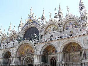 Byzantine- St Mark's Basilica, Venice.