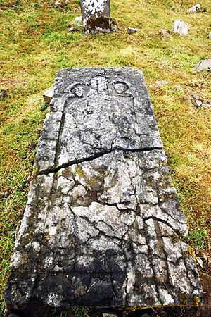 Saint Nicholas - Tomb of Saint Nicholas near Thomastown, Ireland.