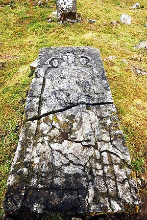 Saint Nicholas - Tomb of Saint Nicholas near Thomastown, Ireland.