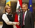 Staatssekretär Lopatka trifft moldauische Vizeministerin Gherman Wien (8185062428).jpg