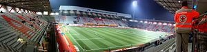Stade Marcel Picot - Panoramic view (December 2010)