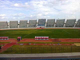 Stade El Menzah football stadium in Tunis