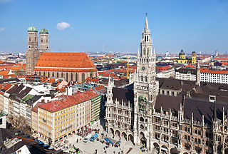 Munich Place in Bavaria, Germany