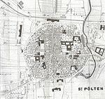 Stadtplan St. Pölten 1888-aus Führer durch St. Pölten und Umgebung, 1888.jpg