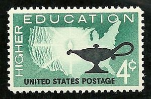 English: Higher Education US postage stamp