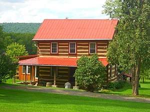 Potter Township, Centre County, Pennsylvania - Image: Standford House Potter Township Centre Co PA