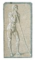 Standing Youth Leaning on a Long Staff (recto); Seated Man (verso) MET 38W cat 25ar3.jpg