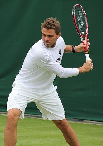 Stan Wawrinka - Wawrinka at the 2013 Wimbledon Championships.