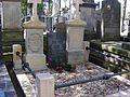 Stanislaw Maslowski grave, Old Powazki Cemetery, sect. 11-1-7-8, april 2013.jpg