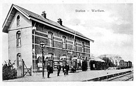 Station Warffum; circa 1910