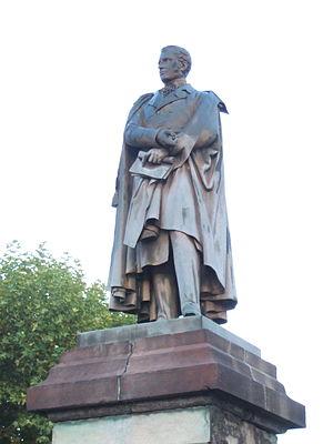 Decazeville - Statue of Élie Decazes