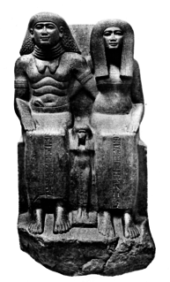 Ancient Egyptian noble, chief of the King