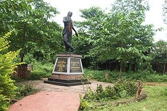 Kelucharan Mohapatra - Statue of Padmabhushan Guru Kelucharan Mohapatra