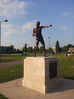 Teddy Baldock English boxer