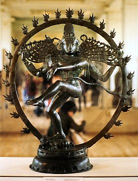 Statuette of dancing Shiva, the Nataraja.jpg