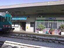 La stazione ferroviaria centrale.