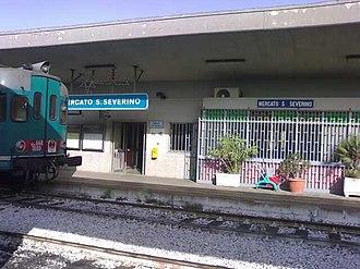 Mercato San Severino - Railway station