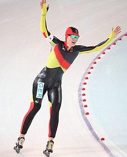 Stephanie Beckert German speed skater