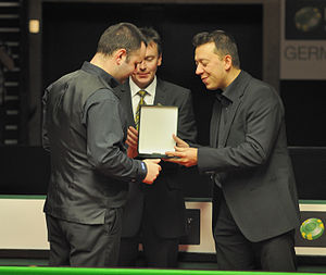 2012 German Masters - Image: Stephen Maguire at German Masters Snooker Final (Der Hexer) 2012 02 05 26