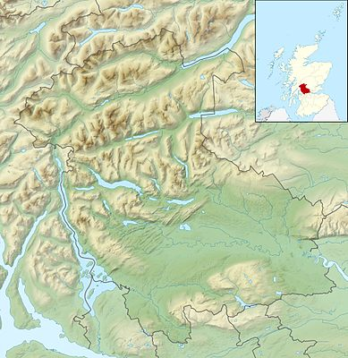 Location map Scotland Stirling