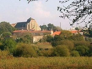 Brem-sur-Mer - A general view of Saint-Nicolas' Quarter
