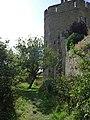 Stokesay Castle, the dry moat - geograph.org.uk - 1507325.jpg