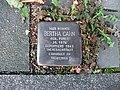 Stolperstein Bertha Cahn Neustraße 18 Bonn.JPG