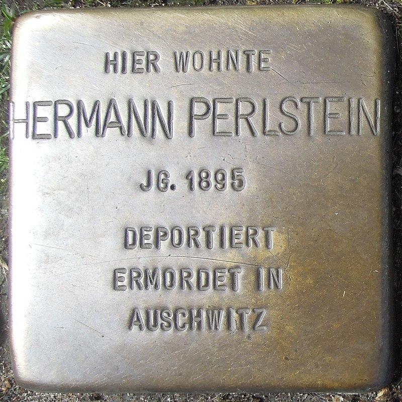 Stolperstein Dorsten Essener Straße 18-20 Hermann Perlstein.jpg