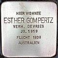 Stolperstein Esther Gompertz.jpg