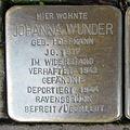 Stolperstein Goch Voßstraße 16 Johanna Wunder.JPG