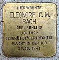Stolperstein HL Eleonore C. M. Bach (1892).jpg