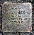 Stolperstein Krefelder Str 20 (Moabi) James Rosenthal.jpg