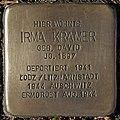 Stolpersteine Köln, Irma Kramer (Pauliplatz 6).jpg