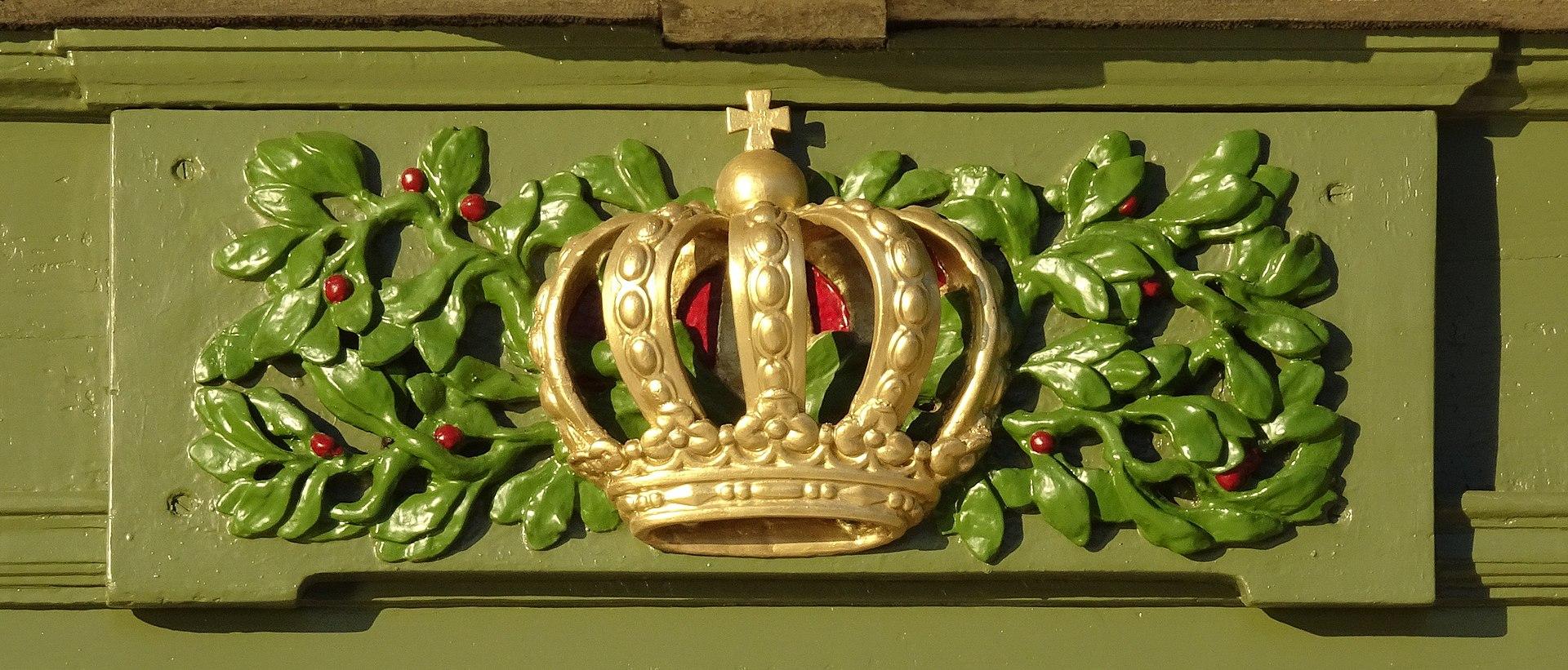Stora Sjötullens krona