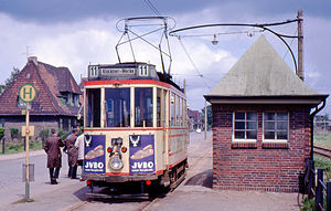 Trams in Bremen - Line 11, closed 1970.