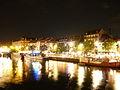 Strasbourg - l'Ill et le quai des pêcheurs de nuit.JPG