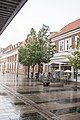 Street in Fredericia, heavy rain, 2015-07-29.jpg