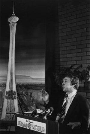 Bob Stupak - Image: Stupak And Tower Model