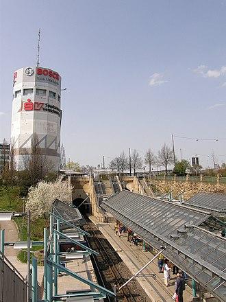 Flak tower - Pragsattel Flakturm in Stuttgart