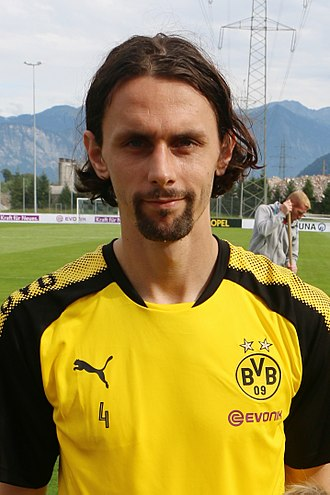 Neven Subotić - Subotić with Borussia Dortmund in 2017