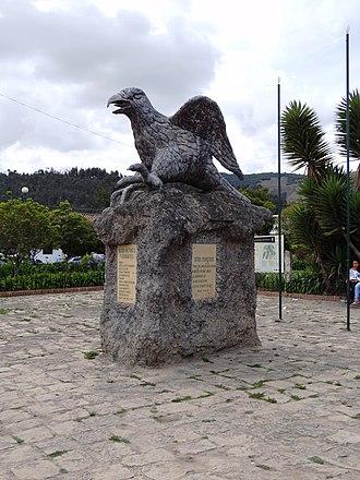 Suesca - Image: Suesca monumento